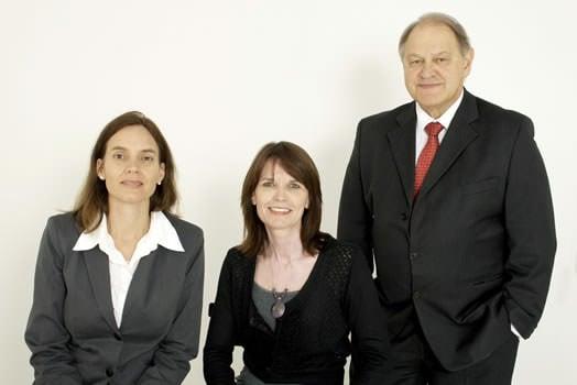 Sonja Frank, Suzette van Niekerk and Tenk Loubser